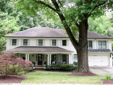 Home 1 cream color brick with porch 2018